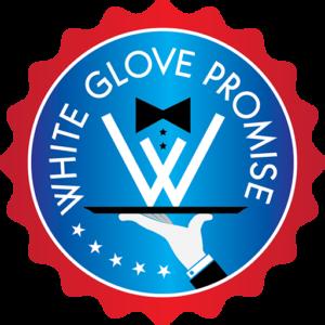 White Glove Seal, movers in kenosha, kenosha moving company